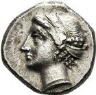 Photo numismatique  ARCHIVES VENTE 12 juin 2018 GRÈCE ANTIQUE Italie - Calabre Monnayage CAMPANO-TARENTIN, (1ère moitié du IIIème siècle) 5- Statère campano-tarentin (281-228).