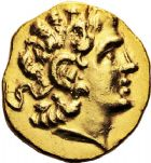 Photo numismatique  ARCHIVES VENTE 12 juin 2018 GRÈCE ANTIQUE THRACE ET GRÈCE CONTINENTALE Rois de THRACE. LYSIMAQUE (323-281) 23- Statère d'or, frappé à Callatis sous MITHRIDATE VI roi du Pont, (vers 120-63).