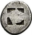 Photo numismatique  ARCHIVES VENTE 12 juin 2018 GRÈCE ANTIQUE THRACE ET GRÈCE CONTINENTALE ILES DE THRACE. THASOS 24- Statère, (vers 463-411).