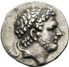 Photo numismatique  ARCHIVES VENTE 12 juin 2018 GRÈCE ANTIQUE THRACE ET GRÈCE CONTINENTALE Rois de MACÉDOINE. PERSÉE (178-168) 31- Tétradrachme, Amphipolis.