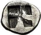 Photo numismatique  ARCHIVES VENTE 12 juin 2018 GRÈCE ANTIQUE THRACE ET GRÈCE CONTINENTALE Villes de Macédoine, EION 33- Trihémiobole (vers 480).