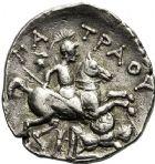 Photo numismatique  ARCHIVES VENTE 12 juin 2018 GRÈCE ANTIQUE THRACE ET GRÈCE CONTINENTALE Rois de PÉONIE, PATRAOS (340-315) 34- Tétradrachme.