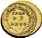 Photo numismatique  ARCHIVES VENTE 12 juin 2018 EMPIRE ROMAIN CALIGULA (37-41)  74- Aureus, Lyon, à partir du 1er janvier 40.
