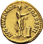 Photo numismatique  ARCHIVES VENTE 12 juin 2018 EMPIRE ROMAIN ANTONIN LE PIEUX (César 138 - Auguste 138-161)  78- Aureus, Rome, 138.