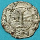 Photo numismatique  MONNAIES BARONNIALES Comté de MELGUEIL Évêché de MAGUELONNE (XIIe-XIIIe siècles) Obole.