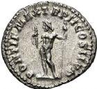 Photo numismatique  ARCHIVES VENTE 12 juin 2018 EMPIRE ROMAIN MACRIN (217-218)  86-  Denier, Rome.