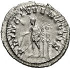 Photo numismatique  ARCHIVES VENTE 12 juin 2018 EMPIRE ROMAIN MAXIME (César 235-238)  92- Denier, Rome, 236/238.