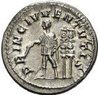 Photo numismatique  ARCHIVES VENTE 12 juin 2018 EMPIRE ROMAIN MAXIME (César 235-238)  93-  Denier, Rome 236/238.