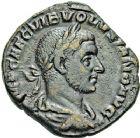 Photo numismatique  ARCHIVES VENTE 12 juin 2018 EMPIRE ROMAIN VOLUSIEN (César 251 - Auguste 251-253)  97- Sesterce, Rome.