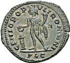 Photo numismatique  ARCHIVES VENTE 12 juin 2018 EMPIRE ROMAIN MAXIMIEN HERCULE (César 286-305 - Auguste 306-308, 310)  104- Follis, Lyon, 303/304.