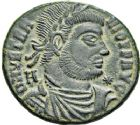 Photo numismatique  ARCHIVES VENTE 12 juin 2018 EMPIRE ROMAIN VÉTRANION (350)  109- Centenionalis, Siscia.