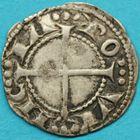 Photo numismatique  MONNAIES BARONNIALES Comté de PROVENCE ALPHONSE Ier et II d'ARAGON (1167-1196-1209)  Royaux coronats du 2e type.