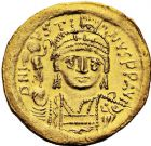 Photo numismatique  ARCHIVES VENTE 12 juin 2018 EMPIRE BYZANTIN JUSTIN II (565-578)  121- Solidus, Constantinople, officine H.