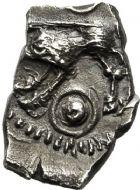 Photo numismatique  ARCHIVES VENTE 12 juin 2018 IBERIE- GAULE - CELTES RUTENES (région du Tarn et de l'Hérault)  166- Drachme au sanglier.
