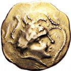 Photo numismatique  ARCHIVES VENTE 12 juin 2018 IBERIE- GAULE - CELTES NAMNÈTES (région de Nantes)  169- Statère à l'hippophore.