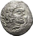 Photo numismatique  ARCHIVES VENTE 12 juin 2018 IBERIE- GAULE - CELTES AULERQUES DIABLINTES (région de la Mayenne)  172- Statère de billon cisaillé.