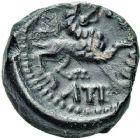 Photo numismatique  ARCHIVES VENTE 12 juin 2018 IBERIE- GAULE - CELTES CARNUTES (région de Chartres)  180- Bronze de Toutobocio.