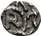 Photo numismatique  ARCHIVES VENTE 12 juin 2018 PEUPLES BARBARES MEROVINGIENS CITES BRIOUDE (Haute-Loire) 204- Denier, VIIIe siècle.