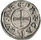 Photo numismatique  ARCHIVES VENTE 12 juin 2018 CAROLINGIENS CHARLES LE CHAUVE, roi (840-875)  216- Denier, Paris, avant 864.