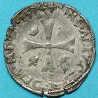 Photo numismatique  MONNAIES BARONNIALES Principauté des DOMBES LOUIS II de Bourbon-Montpensier (1560-1582) Douzain de billon.