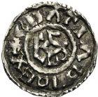 Photo numismatique  ARCHIVES VENTE 12 juin 2018 CAROLINGIENS CHARLES LE CHAUVE, roi (840-875)  221- Obole de Rouen, après 864.