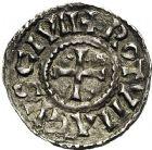 Photo numismatique  VENTE 12 juin 2018 CAROLINGIENS CHARLES LE CHAUVE, roi (840-875)  221- Obole de Rouen, après 864.