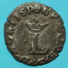 Photo numismatique  MONNAIES BARONNIALES Principauté des DOMBES LOUIS II de Bourbon-Montpensier (1560-1582)  Liard de billon.