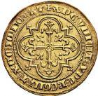 Photo numismatique  VENTE 12 juin 2018 ROYALES FRANCAISES PHILIPPE IV LE BEL (5 octobre 1285-30 novembre 1314)  233- Denier d'or à la masse de la 1ère émission (10 janvier 1296).