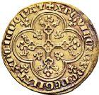 Photo numismatique  VENTE 12 juin 2018 ROYALES FRANCAISES PHILIPPE V LE LONG (1316-1322)  234- Agnel d'or au croissant (8 décembre 1316).