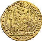 Photo numismatique  VENTE 12 juin 2018 ROYALES FRANCAISES PHILIPPE VI DE VALOIS(1er avril 1328-22 août 1350)  236- Écu d'or à la chaise, 1ère émission, 1er janvier 1337.