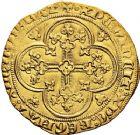 Photo numismatique  VENTE 12 juin 2018 ROYALES FRANCAISES PHILIPPE VI DE VALOIS(1er avril 1328-22 août 1350)  237- Écu d'or à la chaise, 1ère émission, 1er janvier 1337.