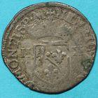 Photo numismatique  MONNAIES BARONNIALES Principauté des DOMBES HENRI II de Montpensier (1592-1608) Douzain.