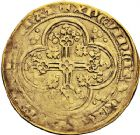 Photo numismatique  ARCHIVES VENTE 12 juin 2018 ROYALES FRANCAISES JEAN II LE BON (22 août 1350-18 avril 1364)  241- Écu d'or à la chaise, 4ème émission, 22 septembre 1351.