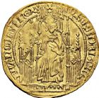 Photo numismatique  ARCHIVES VENTE 12 juin 2018 ROYALES FRANCAISES JEAN II LE BON (22 août 1350-18 avril 1364)  242- Royal d'or de la 1ère émission (22 août 1358).