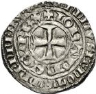 Photo numismatique  ARCHIVES VENTE 12 juin 2018 ROYALES FRANCAISES JEAN II LE BON (22 août 1350-18 avril 1364)  250- Gros tournois du Languedoc.