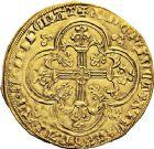Photo numismatique  VENTE 12 juin 2018 ROYALES FRANCAISES CHARLES V (8 avril 1364-16 septembre 1380)  251- Franc d'or à cheval (3 septembre 1364).