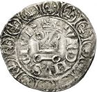 Photo numismatique  ARCHIVES VENTE 12 juin 2018 ROYALES FRANCAISES CHARLES V (8 avril 1364-16 septembre 1380)  252- Gros tournois.