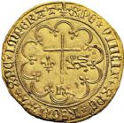 Photo numismatique  ARCHIVES VENTE 12 juin 2018 ROYALES FRANCAISES HENRI VI, roi de France et d'Angleterre (31 octobre 1422–19 octobre 1453)  256- Salut d'or de la 2ème émission (6 septembre 1423), Saint-Lô.