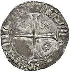 Photo numismatique  VENTE 12 juin 2018 ROYALES FRANCAISES CHARLES VII (30 octobre 1422-22 juillet 1461)  260- Blanc aux lis accotés, La Rochelle, 1ère émission.