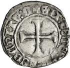 Photo numismatique  VENTE 12 juin 2018 ROYALES FRANCAISES CHARLES VII (30 octobre 1422-22 juillet 1461)  261- Petit blanc au K, Chinon, 1ère émission.