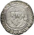 Photo numismatique  VENTE 12 juin 2018 ROYALES FRANCAISES CHARLES VIII (20 août 1483-7 avril 1498)  264- Blanc à la couronne, Aix.