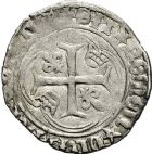 Photo numismatique  ARCHIVES VENTE 12 juin 2018 ROYALES FRANCAISES CHARLES VIII (20 août 1483-7 avril 1498)  264- Blanc à la couronne, Aix.
