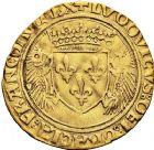 Photo numismatique  VENTE 12 juin 2018 ROYALES FRANCAISES LOUIS XII (8 avril 1498-31 décembre 1514)  265- Écu d'or au porc-épic, émission du 19 novembre 1507, Châlons-en-Champagne.