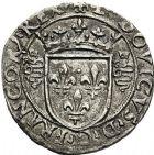 Photo numismatique  VENTE 12 juin 2018 ROYALES FRANCAISES LOUIS XII (8 avril 1498-31 décembre 1514) Monnaies frappées en Italie, (1499-1512) 267- Grosso de 3sous dit Bissone, Milan.