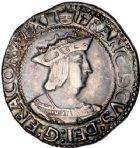 Photo numismatique  VENTE 12 juin 2018 ROYALES FRANCAISES FRANCOIS I (1er janvier 1515–31 mars 1547)  268- Teston du 4ème type, Tours.