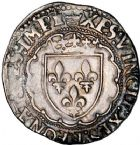 Photo numismatique  ARCHIVES VENTE 12 juin 2018 ROYALES FRANCAISES FRANCOIS I (1er janvier 1515–31 mars 1547)  268- Teston du 4ème type, Tours.