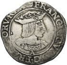 Photo numismatique  ARCHIVES VENTE 12 juin 2018 ROYALES FRANCAISES FRANCOIS I (1er janvier 1515–31 mars 1547)  269- Teston du 19ème type, Paris.