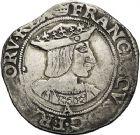 Photo numismatique  VENTE 12 juin 2018 ROYALES FRANCAISES FRANCOIS I (1er janvier 1515–31 mars 1547)  269- Teston du 19ème type, Paris.