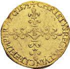 Photo numismatique  VENTE 12 juin 2018 ROYALES FRANCAISES CHARLES IX (5 décembre 1560-30 mai 1574)  272-  Écu d'or au soleil, Rouen 1572.