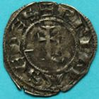 Photo numismatique  MONNAIES BARONNIALES Archevêché de LYON (XIIe siècle) Denier.